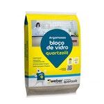 Argamassa Bloco de Vidro Branca Int/Ext 20kg Embalagem Plástica - Quartzolit - 0070.00000.0020PLH - Unitário