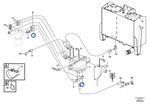 Mangueira Completa - Volvo CE - 11411552 - Unitário