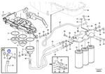 Conexão do Filtro de Óleo - Volvo CE - 15148944 - Unitário