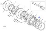 Retentor do Pistão - Volvo CE - 11103388 - Unitário