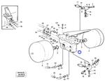 Válvula Freio de Pé - Volvo CE - 11988114 - Unitário