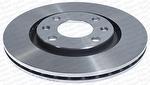 Disco de Freio Ventilado sem Cubo - Hipper Freios - HF 697 - Par