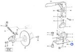 Anel de Fixação - Volvo CE - 947537 - Unitário