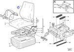 Forro para Estofamento - Volvo CE - 11707358 - Unitário