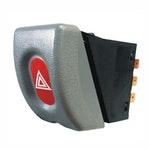 Interruptor do Pisca Alerta Gm/Opel/Vauxhall 93397730 - 7 Terminais 12V Chave Comutadora - DNI - DNI 2182 - Unitário