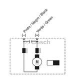 MOTOR ELÉTRICO C.C. DPG 24V 230W - Bosch - 9130081060 - Unitário