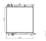 Radiador de Resfriamento - Valeo - 732930R - Unitário