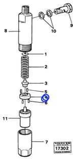 Arruela - Volvo CE - 1698513 - Unitário