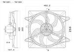 Eletroventilador - Valeo - T911251. - Unitário