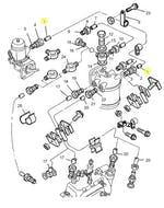Tubo de Combustível de Baixa Pressão da Bomba Alimentadora - PERKINS - 4124P006 - Unitário