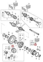 Jogo de Arruelas Plástica Planetária - Original Chevrolet - 90374268 - Unitário