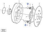 Eixo do Sistema Hidráulico - Volvo CE - 4881068 - Unitário