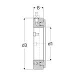 Porca hidráulica. série HMV ..E - SKF - HMV 52E - Unitário