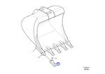 Dente - 80GPE - Volvo CE - 14526511 - Unitário