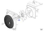 Cubo do Ventilador - Volvo CE - 11175764 - Unitário