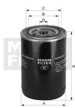 Filtro Blindado do Óleo Lubrificante HILUX 1993 - Mann-Filter - WP928/80 - Unitário