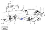 Bico da Mangueira do Duto de Ar da Cabine - Volvo CE - 4786855 - Unitário