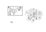 Lente da Iluminação Frontal - Volvo CE - 11988200 - Unitário