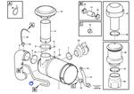 Tubo do Filtro de Ar - Volvo CE - 11180505 - Unitário