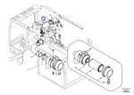 Mangueira da Admissão de Ar - Volvo CE - 14518258 - Unitário