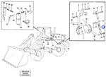 Braço Tensor - Volvo CE - 11018137 - Unitário