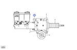 Interruptor do Amplificador de Força - Volvo CE - 76288 - Unitário