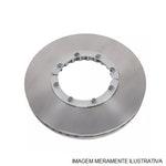 Disco de freio Dianteiro - MDS - MDS-D31 - Par