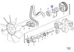 Adaptador - Volvo CE - 22107933 - Unitário