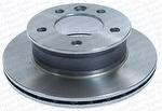 Disco de Freio Ventilado sem Cubo - Hipper Freios - HF 471B - Par