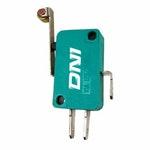 Micro Interruptor de Uso Geral na / Nf - Chave Comutadora - Bivolt 3 Terminais - DNI - DNI 2416 - Unitário