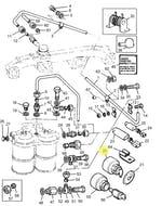 Ignição de Partida do Motor - PERKINS - 2846130 - Unitário