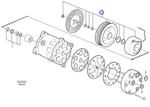Acoplamento do Compressor do Ar - Volvo CE - 11707768 - Unitário