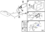Interruptor do Secador de Ar - Volvo CE - 12739590 - Unitário