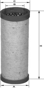 Filtro de Ar - Mann-Filter - CF 600/1 - Unitário