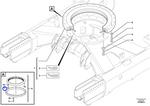 Parafuso Soquete Sextavado - Volvo CE - 15604682 - Unitário