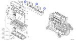 Parafuso - Volvo CE - 20459853 - Unitário