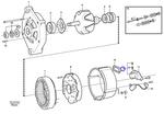 Jogo de Escovas de Carbono - Volvo CE - 1362710 - Unitário