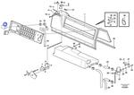 Sensor de Temperatura do Ar Condicionado - Volvo CE - 8140938 - Unitário