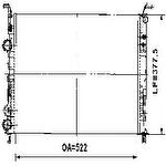 Radiador de Resfriamento - Valeo - 732352R - Unitário