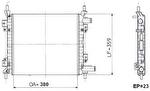 Radiador de Resfriamento - Valeo - 6TA101A - Unitário