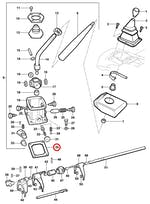 Junta da Alavanca de Câmbio - Original Chevrolet - 93388516 - Unitário