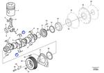 Jogo de Arruela de Encosto - Volvo CE - 270930 - Unitário