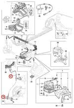 Sensor de Velocidade do ABS - Original Chevrolet - 90464775 - Unitário
