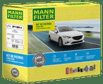 KIT Original MANN-FILTER - FORD KA 1.0 12V Flex (08.2014-) e 1.5 16V Flex (08.2014-) - Mann-Filter - SP11062-4 - Kit