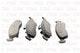 Miniatura imagem do produto Pastilha de Freio - TRW - RCPT13680 - Jogo