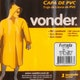 Miniatura imagem do produto Capa para Chuva de PVC com Forro GG - Vonder - 70.15.440.100 - Unitário