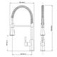 Miniatura imagem do produto Misturador Monocomando Cozinha de Mesa com Ducha Especial Kitchen - Cromado - 1/2 - Lorenzetti - 7048481 - Unitário