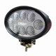 Miniatura imagem do produto Farol Auxiliar de Trabalho Oval com 8 LEDs 24W - DNI 4165 - DNI - DNI 4165 - Unitário