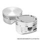 Miniatura imagem do produto Pistão com Anéis - Metal Leve - P&A9198 STD - Unitário
