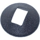 Miniatura imagem do produto Moldura da Maçaneta Interna da Porta Dianteira - Universal - 40256 - Unitário